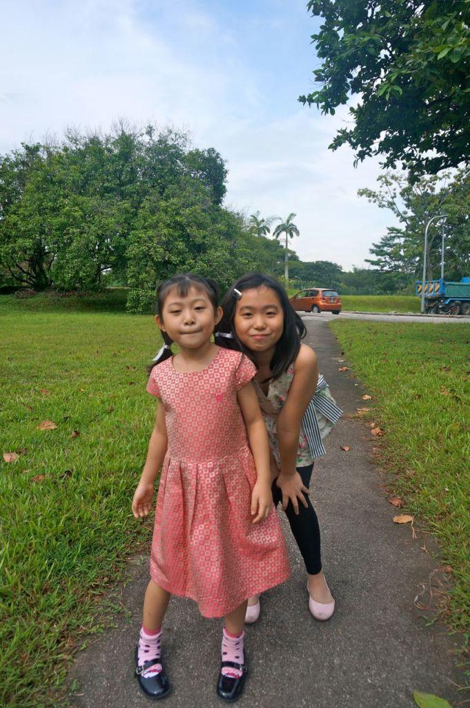 2 'not so little' girls