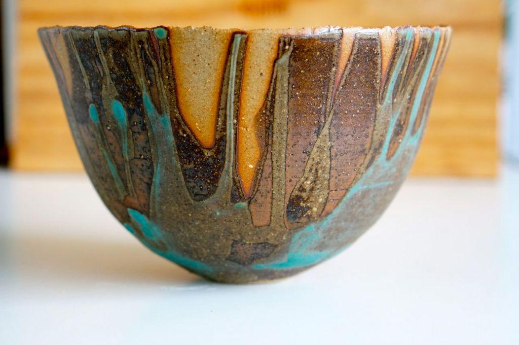 My favorite glaze - Matte Turqoise. Gotta try it again soon.