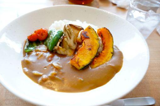 Organic Hida rice with farm veggies