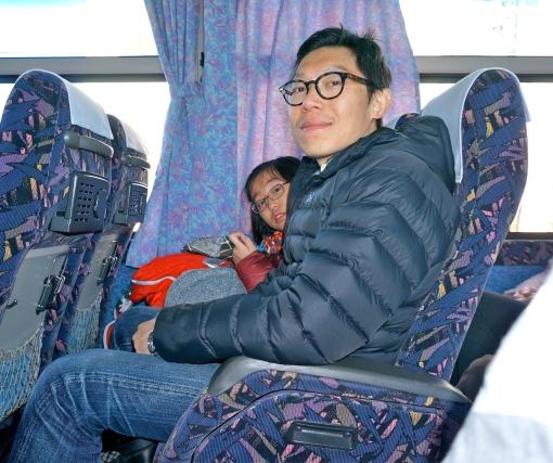 Bus ride from Takayama back to Nagoya.