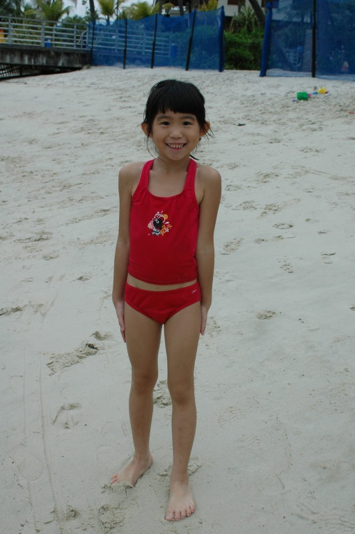 6 years old! Super tall and skinny at K2 :)